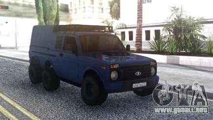 Niva Urban 6x6 para GTA San Andreas