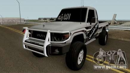 Toyota Land Cruiser 79 2018 para GTA San Andreas