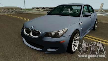 BMW M5 E60 HQ para GTA San Andreas
