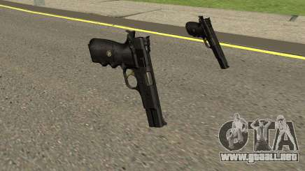 Browning Hi-Power Custom para GTA San Andreas