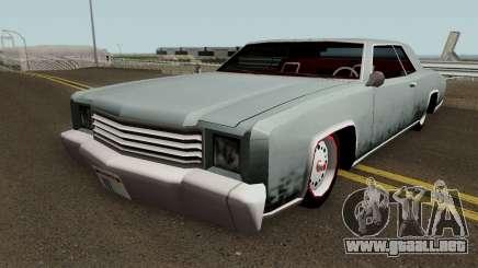 Retextured HD Albany Buccaneer v1.0 para GTA San Andreas