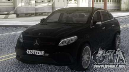 Mercedes-Benz GLE 63 4MATIC AMG para GTA San Andreas