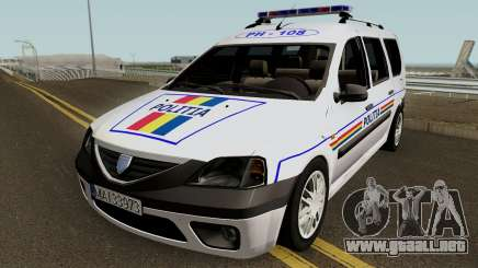 Dacia Logan MCV - Politia Romana 2004 para GTA San Andreas