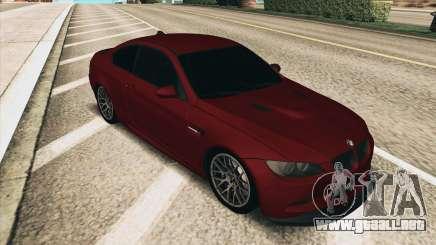 BMW M3 E92 Coupe para GTA San Andreas