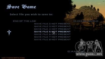 Fast Save para GTA San Andreas