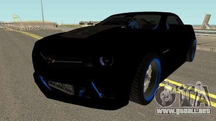 Chevrolet Camaro ZL1 2012 Drift 1.0 para GTA San Andreas