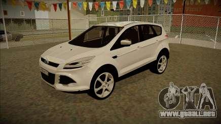 Ford Kuga 2013 V2 para GTA San Andreas