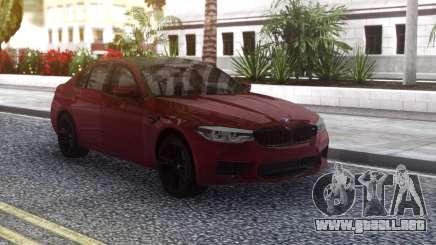 BMW M5 F90 Original para GTA San Andreas