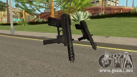 Tec9 HQ (With HD Original Icon) para GTA San Andreas