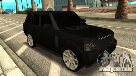 Range Rover Vogue Supercharged para GTA San Andreas