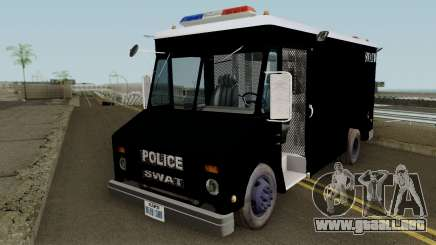 Chevrolet Step Van S.W.A.T. para GTA San Andreas