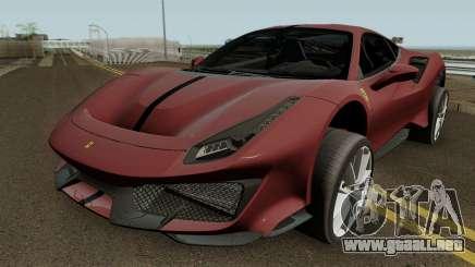Ferrari 488 Pista 2019 HQ para GTA San Andreas