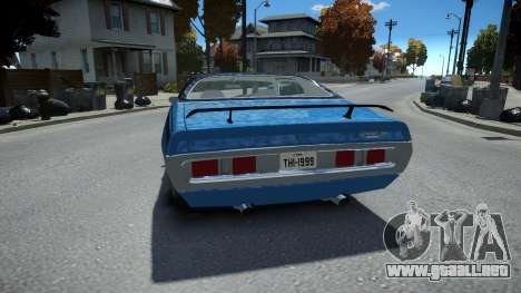 Dodge Charger 1971 Super Bee para GTA 4