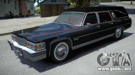 Cadillac Fleetwood Hearse 1978 para GTA 4