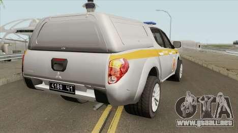 Mitsubishi L200 MOE para GTA San Andreas