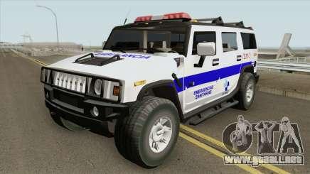 Hummer H2 Ambulance para GTA San Andreas