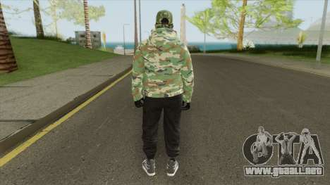 GTA Online Skin V3 para GTA San Andreas