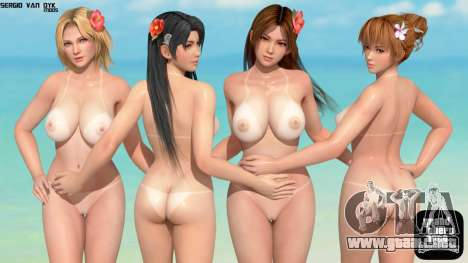 Dead Or Alive Xtreme Venus Full HD Loadscreen para GTA San Andreas