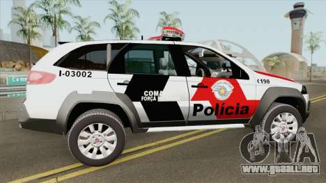 Fiat Palio Weekend 2017 (PMESP) para GTA San Andreas