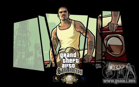GTA SA pantallas de Carga de 15 años de aniversa para GTA San Andreas