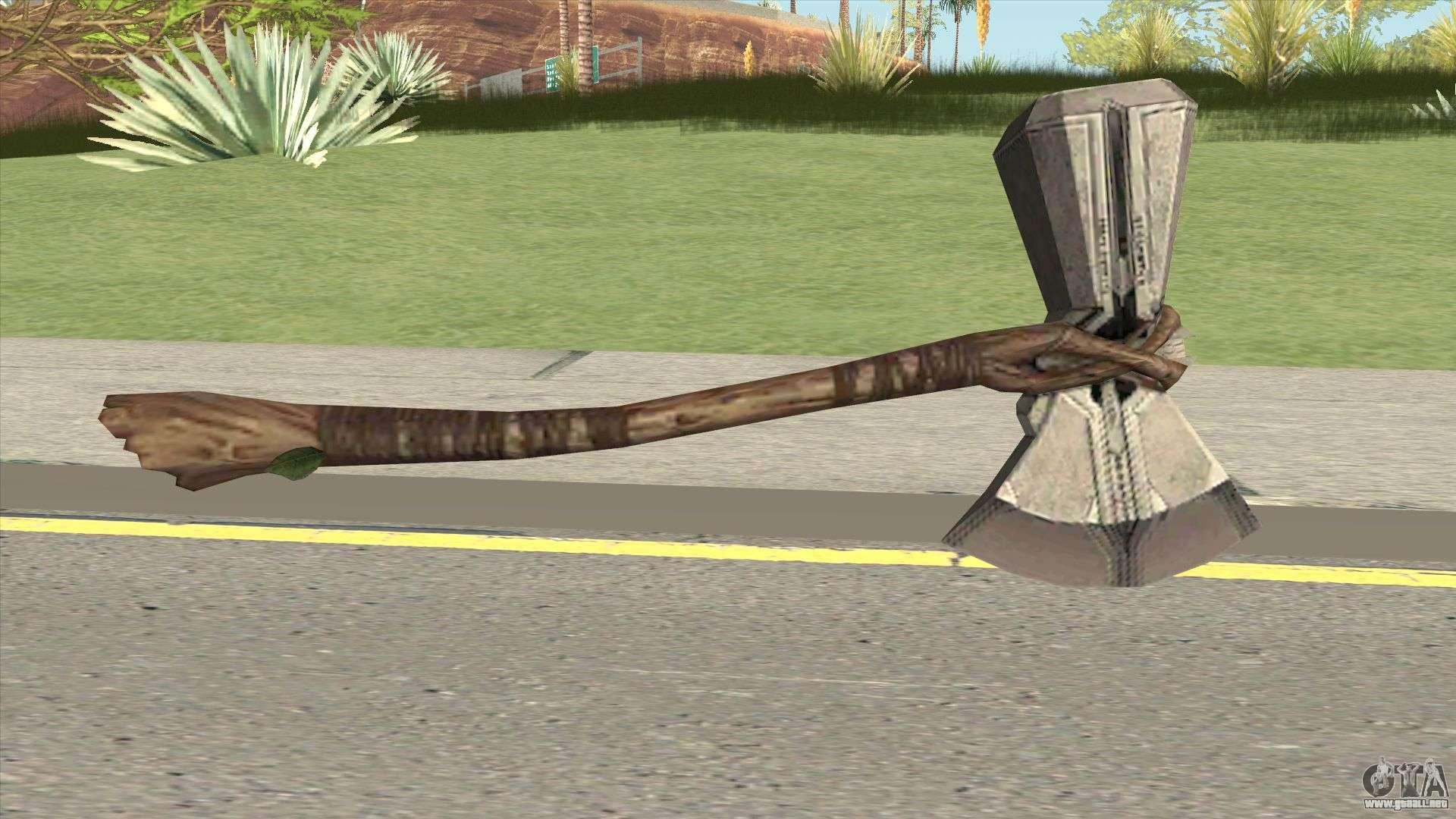Thor Hatchet Para GTA San Andreas