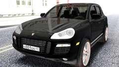 Porsche Black Cayenne para GTA San Andreas