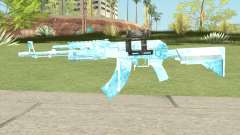 AK47 Glacier (Original Scope) para GTA San Andreas