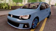 Volkswagen Gol Trend Blue para GTA San Andreas