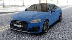 Audi RS5 Blue para GTA San Andreas