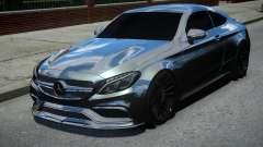 Mercedes-Benz C63 AMG Black para GTA 4