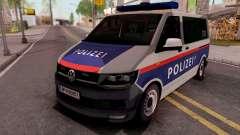 Volkswagen Transporter T6 Osterreich Polizei