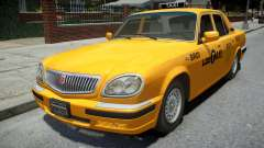 GAZ 31105 Volga Taxi 2004 LC para GTA 4