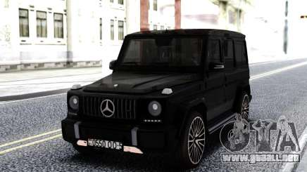Mercedes-Benz Black G63 AMG para GTA San Andreas
