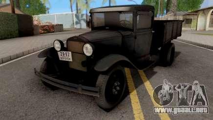 GAZ-AA 1934 para GTA San Andreas
