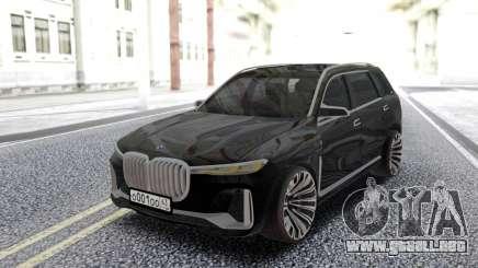 BMW X7 2017 Offroad para GTA San Andreas