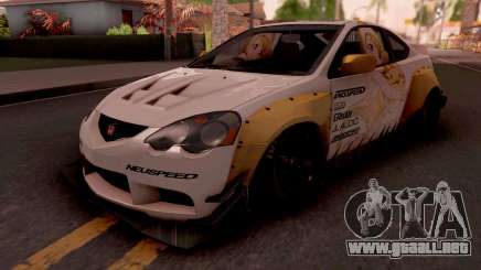 Honda Integra R 2002 Widebody para GTA San Andreas
