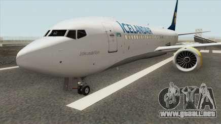 Boeing 737 MAX (Icelandair Livery) para GTA San Andreas