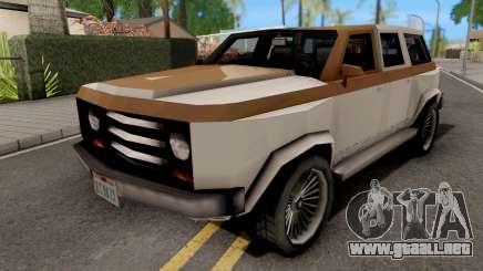 Gang Rancher from GTA VCS para GTA San Andreas