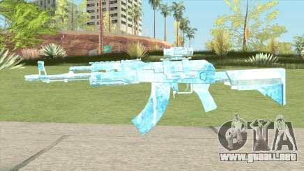 AK47 Glacier (Ice Scope) para GTA San Andreas