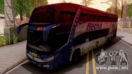 MarcoPolo Flecha Bus Boca Juniors para GTA San Andreas