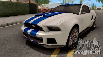 Ford Mustang NFS Movie para GTA San Andreas