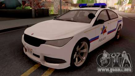 Ubermacht Oracle 2014 Hometown PD Style para GTA San Andreas