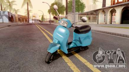 Faggio from GTA VCS para GTA San Andreas