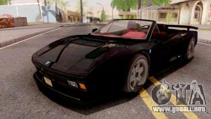 GTA V Grotti Cheetah Classic Spyder IVF para GTA San Andreas