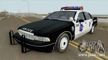 Chevrolet Caprice 1991 Police para GTA San Andreas