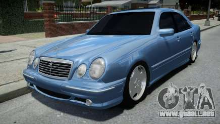 Mercedes-Benz E55 AMG Blue para GTA 4