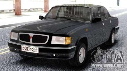 GAZ 3110 Volga Negro para GTA San Andreas