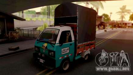 Suzuki Carry Con Estacas para GTA San Andreas