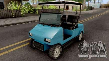 Caddy from GTA VCS para GTA San Andreas