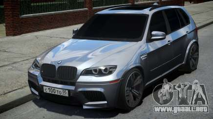 BMW X5M Grey para GTA 4